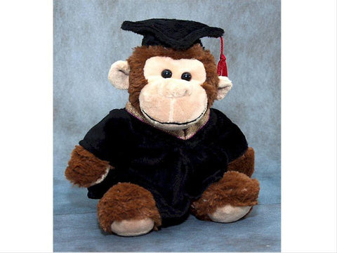 "9"" Graduation Monkey      - BEG633"