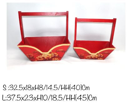 CNY Box with Handle- BAS8743