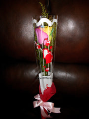 Single Rainbow Rose -  FBQ1307