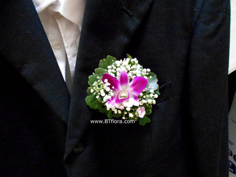Simple Orchid Corsage - WED0297
