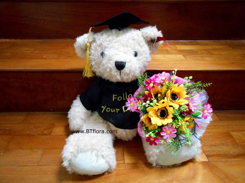 Graduation Bear – Follow Your Dreams  - BWF3667