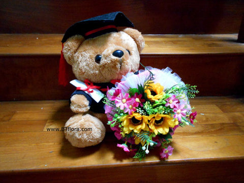 Graduation Brown Bear - BWF3579D