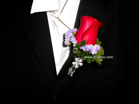Rose Boutonniere - WED0262B
