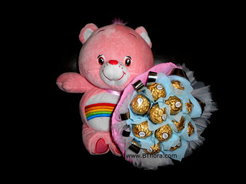 Chocolate n Carebear - CHO1248