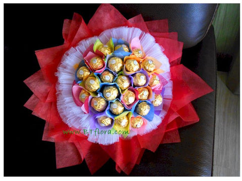 Colourful Rocher Bouquet - CHO1252val