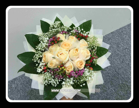 Champagne Rose Bouquet     - FBQ1999