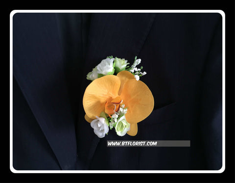 Artificial Orchid/Rose Corsage - ART0472