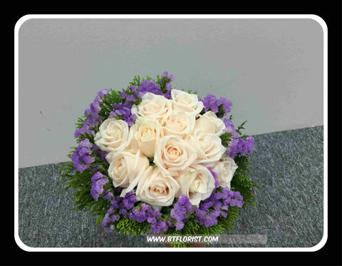 Simple Bridal Bouquet  - WED0445