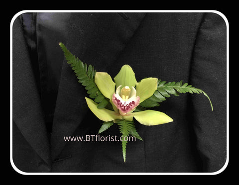 Simple Cymbidium Corsage - WED0385