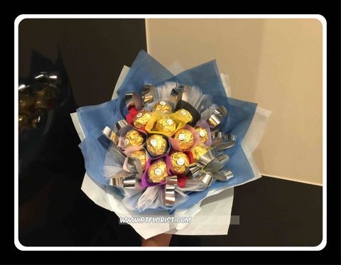 Small Colourful Chocolate Bouquet   - CHO1299