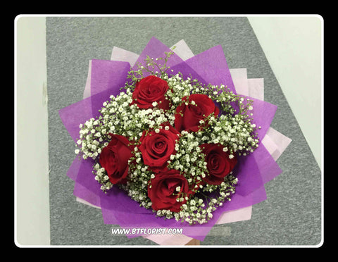 Simple Rose Bouquet IV - FBQ1458val