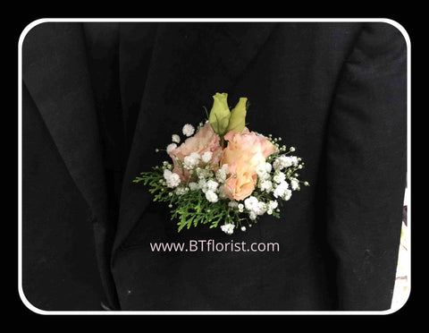 Eustoma Corsage - WED0344
