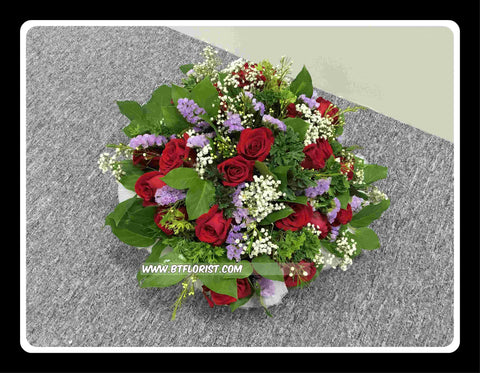Red Rose Arrangement- WED0560
