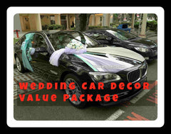 Wedding Car Decoration Value Package - PAC8082