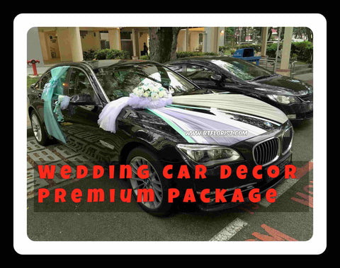 Wedding Car Decoration Premium Package - PAC8084