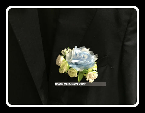 Artificial Silk rose Corsage  - ART0436
