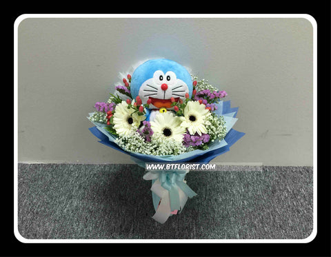 Doraemon Fresh Flower Bouquet    - BBQ2048