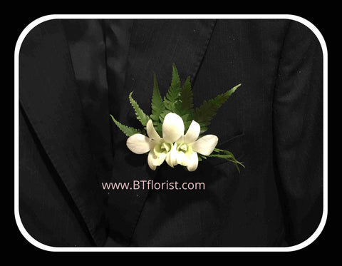 Simple Orchid Corsage - WED0347