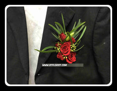 Mini Rose Corsage - WED0238