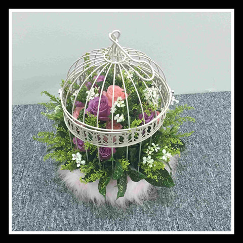 Bird Cage arrangements - WED0523Q