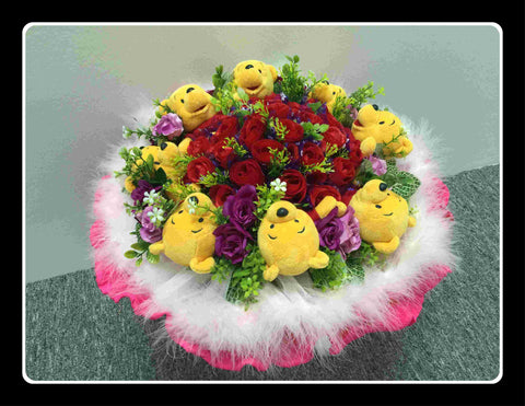 Deluxe Baby Pooh Bouquet - BBQ2028G