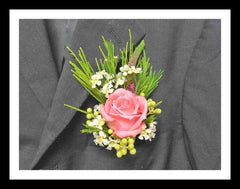 Deluxe Rose Corsage - WED0333