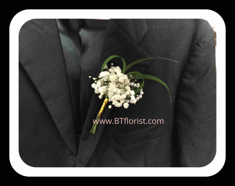 Baby Breath Corsage II- WED0572