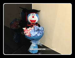 Graduation Doraemon Bouquet  - BBQ2348