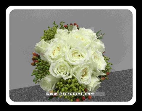 Special Rose Bridal Bouquet  - WED0133
