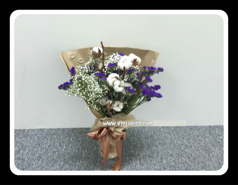 Cotton Flower Bouquet  - FBQ1260val