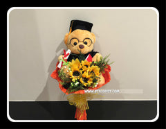 Graduation Bear Bouquet  - BBQ2433