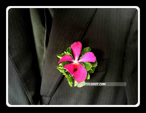 Simple Mokara Orchid Corsage- WED0348