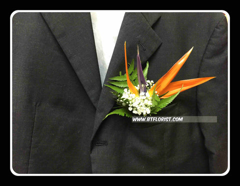 Bird Of Paradise Corsage II- WED0314