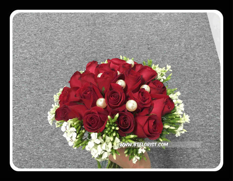 Rose Bridal Bouquet  - WED0221