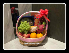 Fruits & Biscuit Hamper - FRB5543