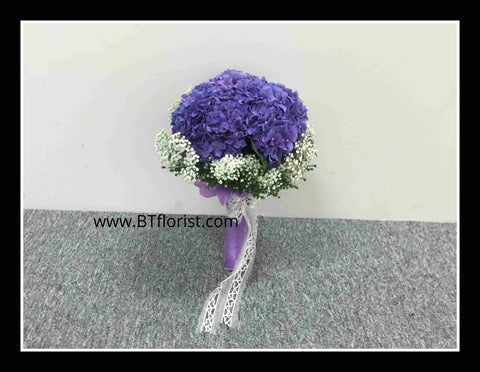 Hydrangea Bridal Bouquet  - WED0173