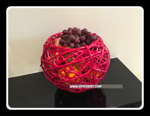 Fruit  in Sphere Basket - FRB5588