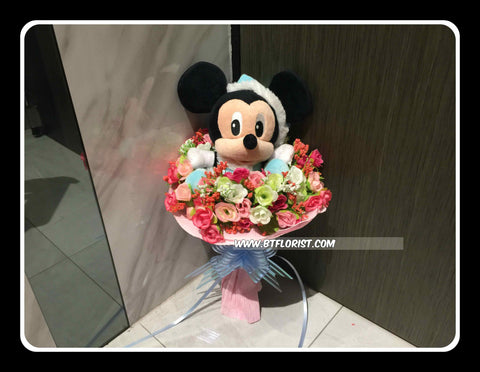 Mickey Bouquet    - BBQ2213