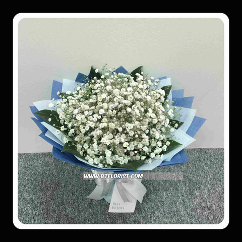 Baby Breath Bouquet  - FBQ1156Mval
