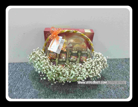Bird Nest & Fresh Flower - FRB5589