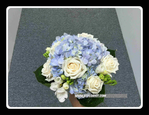 Hydrangea Bridal Bouquet  - WED0124