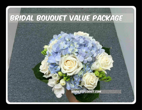 Bridal Bouquet Value Package - PAC8092