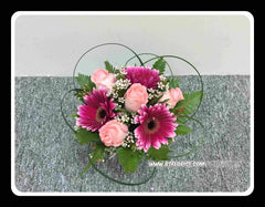 Rose/Gerbera Arrangement - WED0506