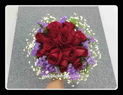 Simple Bridal Bouquet  - WED0199