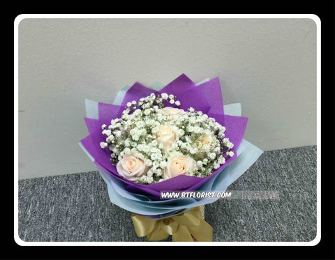 Simple Rose Bouquet III - FBQ1457