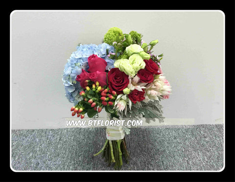 Special Bridal Bouquet   - WED0455
