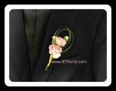 Carnation Boutonniere - WED0366