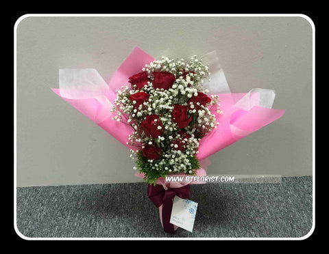 9 Rose Bouquet  - FBQ1211