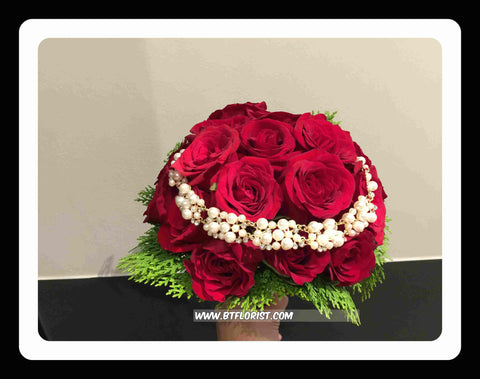 Special Pearl Bridal Bouquet   - WED0340