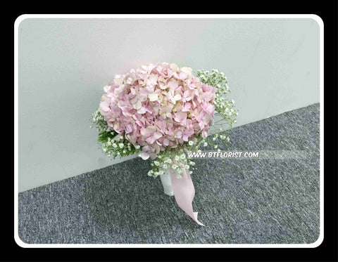 Simple Hydrangea Bridal Bouquet - WED0433